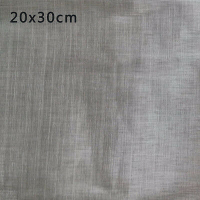 Nickel Wire Mesh 180, Sheet 20 x 30 cm, Wire Diameter 0.05 mm, Opening 0.091mm