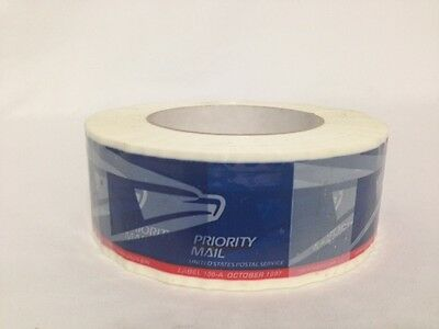 1 Roll Of USPS Priority Mail Tape Eagle Logo Label #106-A Oct 1997