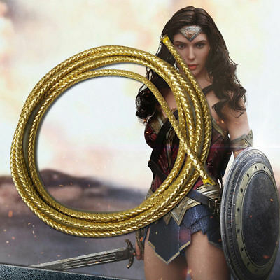 DC Comic Wonder Woman Diana Prince Equipment Cosplay Prop Rope Cord New