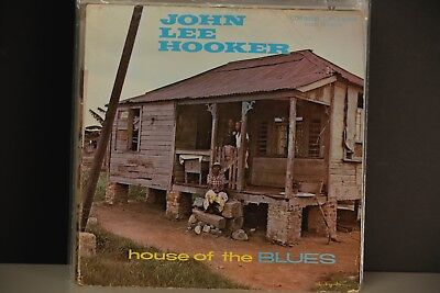 John Lee Hooker House Of The Blues Lp First Pressing Vg+ Record  Insanely Rare