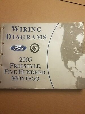 2006 ford freestyle montego 500 five hundred service manual set dvd rh picclick com