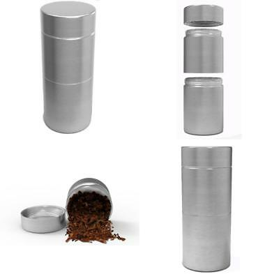 ;Herb Stash Jar Container Airtight Smell Proof Aluminum for Weed Storage Metal