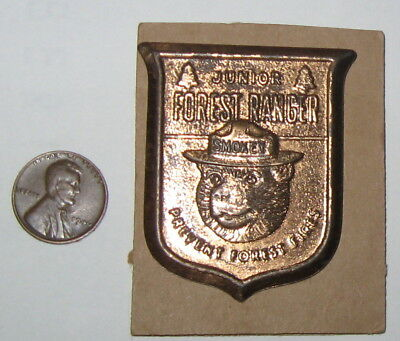 SMOKEY, Junior Forest Ranger Badge, 1950's - 1960's, LOOK