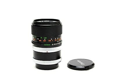 Canon FD 50mm f3.5 S.S.C Macro Manual Focus Lens w/ Life Size Adapter  26342