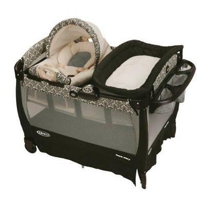 Graco Pack 'n Play Playard with Cuddle Cove Rocking Seat, Rittenhouse New