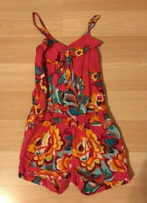 Girls Romper Size 6 Floral The children's place