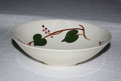 Blue Ridge Southern Pottery STANHOME IVY 4325 Skyline Rnd Vegetable Serving Bowl