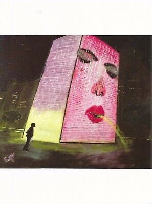 Postcard IL Illinois Chicago Crown Fountain at Millennium Park Unused MINT