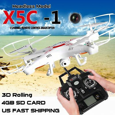 X5C-1 2.4Ghz 6-Axis RC Quadcopter Drone UAV RTF UFO with HD RC Camera Drone