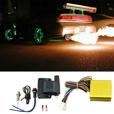 Aircraft Exhaust Flame Thrower Kit Fire Burner Afterburner Kit Super Appearance