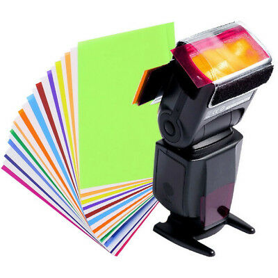 12 colors FLash/Speedlite/Speedlight Color Gels Filter kit Best For Photography