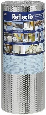 Reflectix 50-sq ft Reflective Roll Insulation Double Bubble 24-in W x 25-ft L US