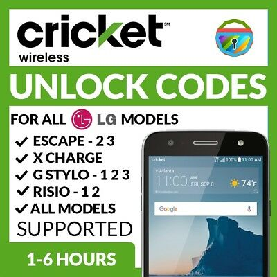 ZTE SONATA 3 Z832 Unlock Code Cricket Wireless (At&t