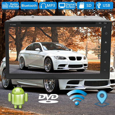7'' 2 Din Car DVD VCD Audio Player Stereo Map/GPS/Radio Navi With Reverse Camera