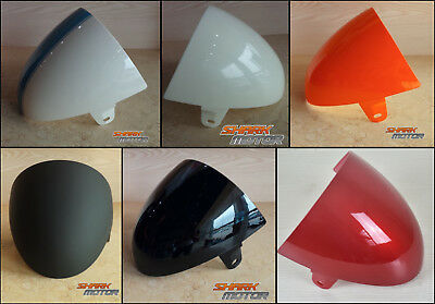 Universal Motorcycle ABS Rear Seat Cowl Cover For Cafe Racer Compartment Seat