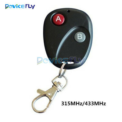 315MHz/433MHz RF Wireless Remote Control Transmitter For Garage Gate Door