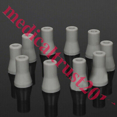 denshine 10pcs Replaceable Rubber Snap Tip Adapter for Dental SE Saliva Ejector