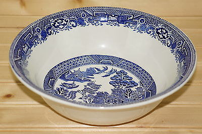 """Myott Old Willow Round Vegetable Serving Bowl,  8 1/2"""""""