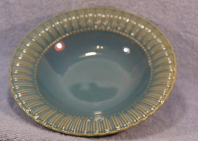 """Bombay & Company Soup or Cereal Bowls BLUE Dots 9 1/4"""" Lot of 2 Bowls"""