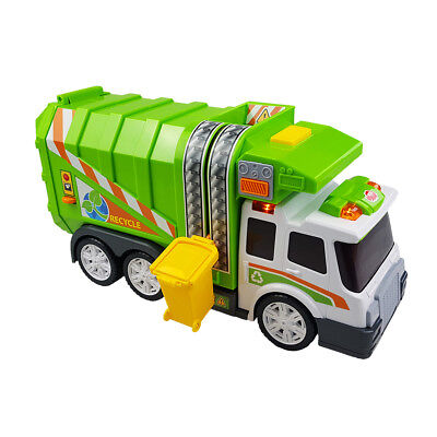 Dickie Toys 200308357 - Action Series Garbage Truck, Müllwagen inklusive Batter