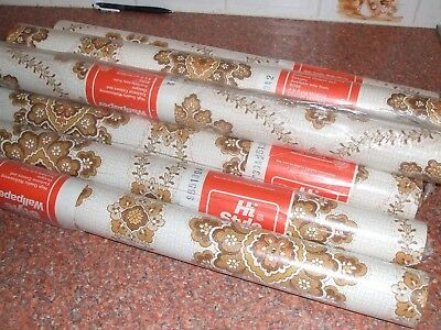 Vintage Retro Mid century  1950s/60s Wallpaper Roll A & R MORRIS CC Unused
