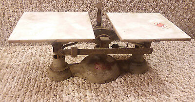 Vintage Balance Scale cast iron FREE SHIPPING