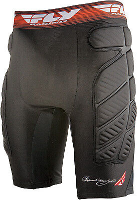 Fly Racing Black/Red Offroad Motocross Motorcycle Riding Compression Short