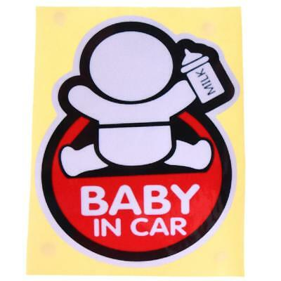 Baby on Board Car Auto Truck Warning Reflective Sticker Graphics Decal Sticker