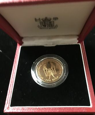 1974 500 Birr Gold Ethiopia International Year of Diasabled Persons