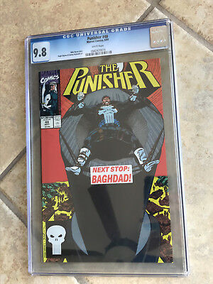 THE PUNISHER #48 Vol. ONE cgc 9.8 Next Stop: BAGHDAD! 1991