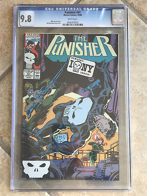 THE PUNISHER #41 Vol. ONE cgc 9.8 1990 Guest Starring NICK FURY