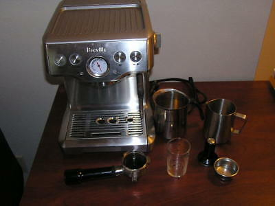 Breville BES840XL the Infuser 4 Cups Espresso Machine - Silver