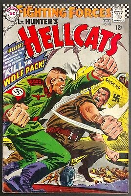 Our Fighting Forces #108 Fn-- Solid  1967  Lt. Hunter+Hellcats Vs The Wolfpack