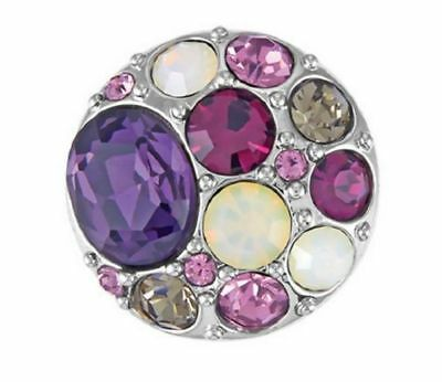 GINGER SNAPS™ BROOCH-PURPLES Jewelry- BUY 4, GET 5TH $6.95 SNAP FREE