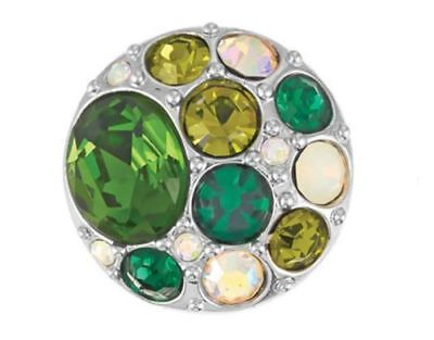 GINGER SNAPS™ BROOCH-GREENS Jewelry- BUY 4, GET 5TH $6.95 SNAP FREE