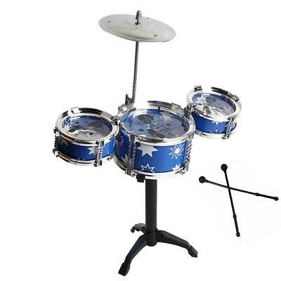 Children Kids Drum Set Kit Playing Drums Musical instrument Toy Gift