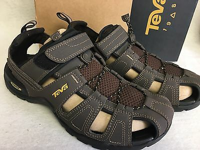 c6e5295890c6 TEVA Forebay Turkish Coffee Brown SPORT WATER SHOES SANDALS Closed Toe  1001116
