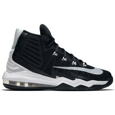 1b9c93fb4ff cheap men nike air max audacity 2016 basketball shoes size 9 14 black white  843884 001