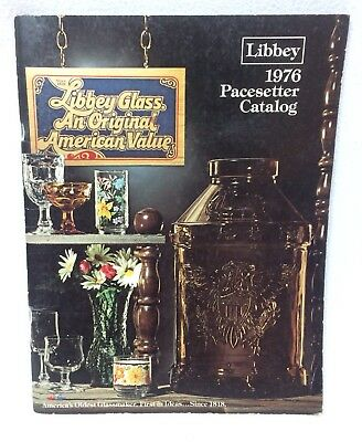 Libbey Glass 1976 Pacesetter Catalog