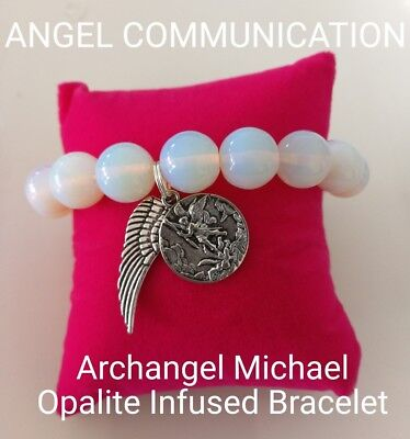 Code 450 Opalite Archangel Infused Bracelet Doreen Virtue Certified Practitioner