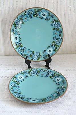 "Taylor Smith & Taylor - TS&T - AZURA - Ironware - U.S.A. 8 1/2"" Salad Plates (2)"