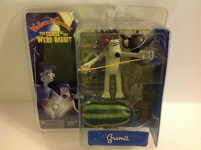 McFarlane Wallace & Gromit The Curse of the Were-Rabbit Quartermaine. New!