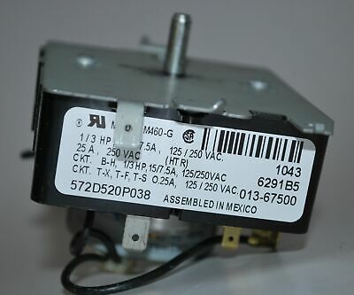 GE General Electric Dryer Timer 572D520P038