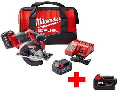 Milwaukee M18 FUEL 18-Volt Lithium-Ion Brushless Cordless 5-3/8 in. Circular w/