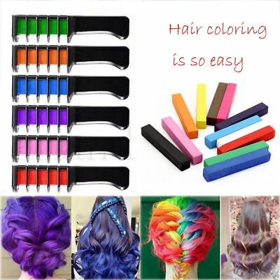 Disposable Temporary Hair Dye Comb Professional  Hair Color Crayons Hot Sale