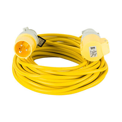 Defender 110v 16A 14m 1.5mm Extension Cable Lead - E85111