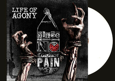 LIFE OF AGONY A Place Where There's No More Pain LP WHITE VINYL LP LTD 200