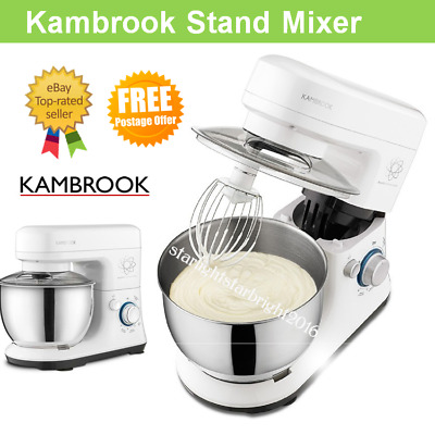 Benchtop Cake Stand Mixer Electric Kitchen Beater Food Dough Hook Whisk Bowl