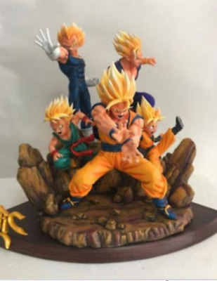 Dragon Ball GK Resin Finished Super Saiyan set of five statues New