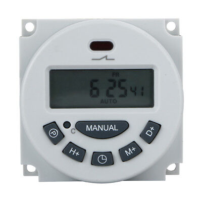 DC 12V 16A Digital Electronic LCD Time Relay Switch Programmable Timer